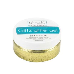 Gina K Designs Glitz Glitter Gel - Gold