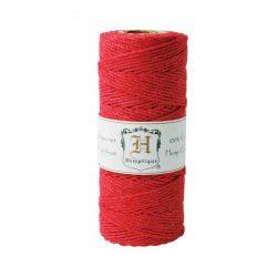 Hemptique Hemp Cord - Red