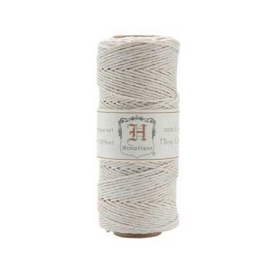 Hemptique Hemp Cord - White
