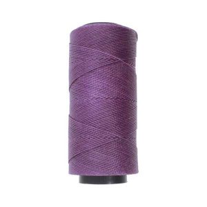 Knot It Waxed Poly Cord - Amethyst class=