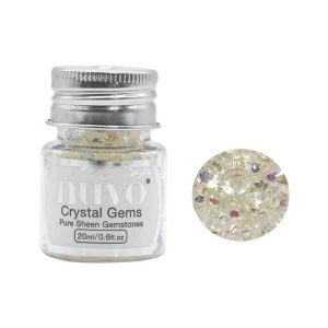 Nuvo Pure Sheen Gemstones - Crystal Gems