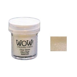 WOW! Clear Gloss Ultra High Embossing Powder