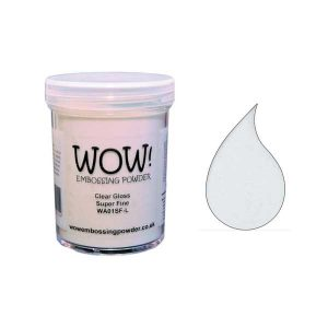 WOW! Clear Gloss Super Fine Embossing Powder class=