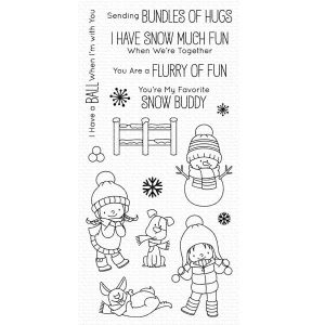 My Favorite Things BB Snow Buddies Stamp Set