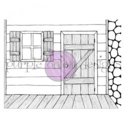 Purple Onion Designs Cabin Background
