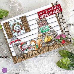 Purple Onion Designs Cabin Background