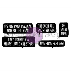 Purple Onion Designs Holiday Blurbs