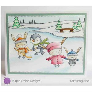 Purple Onion Designs Iclyn (Hockey Bunny) class=