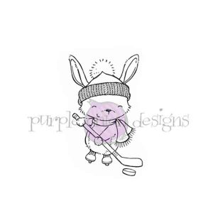 Purple Onion Designs Iclyn (Hockey Bunny)