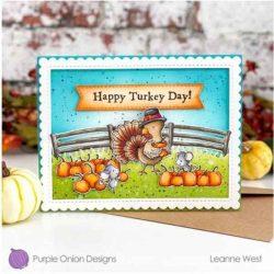 Purple Onion Designs Rosemary (Thanksgiving Turkey)