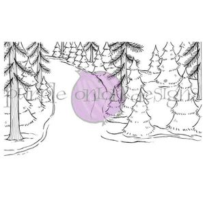 Purple Onion Designs Winter Trail Stamp