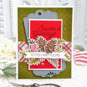Ink To Paper Season's Greetings Stamp Set class=