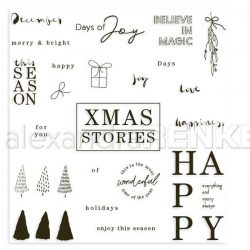 Alexandra Renke Xmas Stories Stamp Set