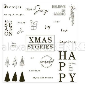 Alexandra Renke Xmas Stories Stamp Set