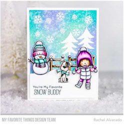 My Favorite Things Snow Buddies Die-namics