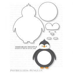 Papertrey Ink Potbellies: Penguin Die