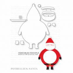 Papertrey Ink Potbellies: Santa Die