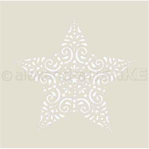 Alexandra Renke Ornament Star Stencil
