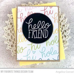 My Favorite Things Heaps of Hellos Stamp Set class=