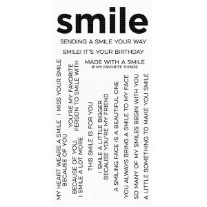 My Favorite Things Smile Maker Stamp Set