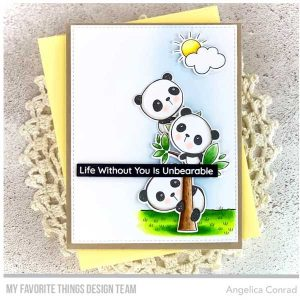 My Favorite Things Panda Pals Stamp Set class=
