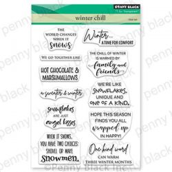 Penny Black Winter Chill Stamp Set