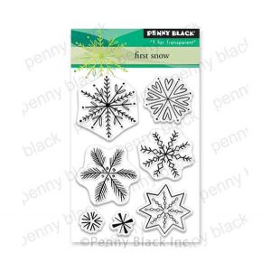 Penny Black First Snow Stamp Set