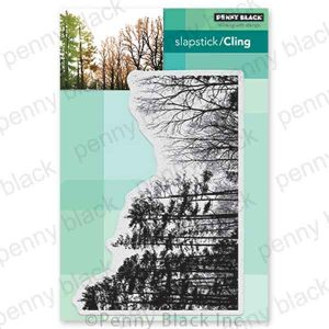 Penny Black Winter Woodland Cling Stamp