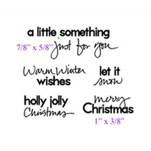 Purple Onion Designs Handwritten Holiday