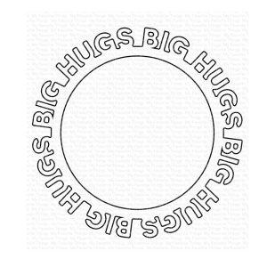 My Favorite Things Big Hugs Circle Frame Die-namics