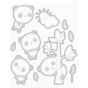My Favorite Things Panda Pals Die-namics