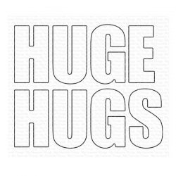 My Favorite Things Huge Hugs Die-namics
