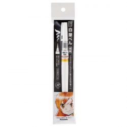 Kuretake ZIG Cartoonist Brush Pen – White