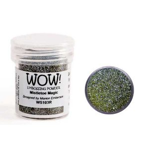 WOW! Mistletoe Magic Embossing Powder