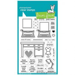 Lawn Fawn You're Just My Type Stamp Set