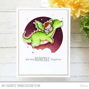 My Favorite Things BB Magical Friends Stamp Set class=