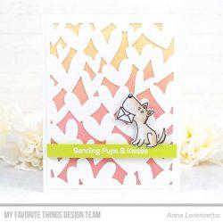 My Favorite Things Pups & Kisses Stamp Set
