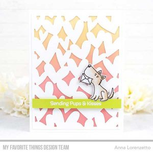 My Favorite Things Pups & Kisses Stamp Set class=