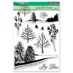 Penny Black Peaceful Winter Stamp Set