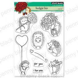 Penny Black Hedgie Luv Stamp Set