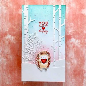 Penny Black Hedgie Luv Stamp Set class=