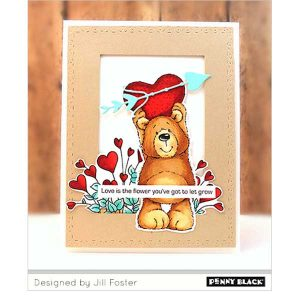 Penny Black Potted Passion Stamp Set class=