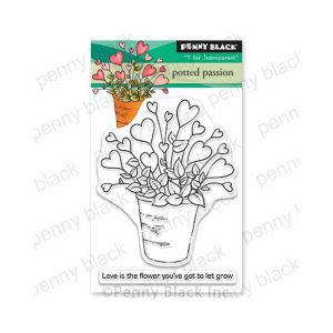 Penny Black Potted Passion Stamp Set