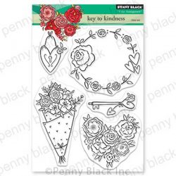 Penny Black Key To Kindness Stamp Set