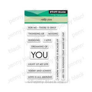 Penny Black Only You Stamp Set (mini)