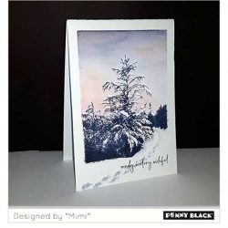 Penny Black Winter Tide Stamp