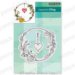 Penny Black Rose Romance Stamp Set