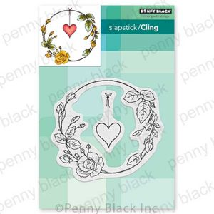 Penny Black Rose Romance Stamp Set