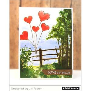 Penny Black Beloved View Stamp Set class=