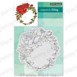 Penny Black Winsome Wreath Stamp